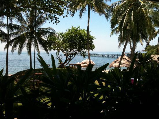Turi Beach Resort: 2nd view from breakfast hall