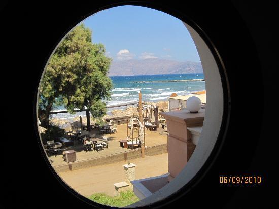 Maria Beach: Vy från lägenheten