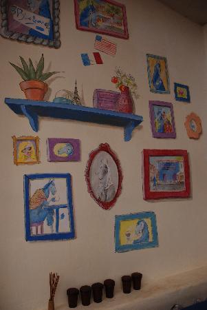 Blue Llama: La decoracion es muy suave y agradable