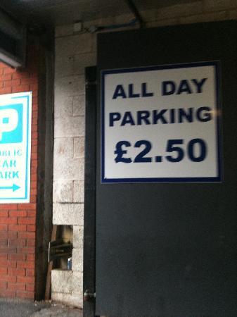 Jurys Inn Sheffield: The car park where a day lasts less than 24 hours
