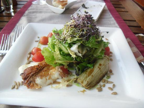 Restaurante Los Roques: Goats Cheese Salad