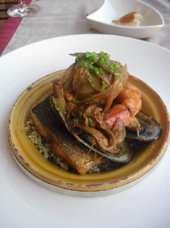 Restaurante Los Roques: Fish Tangine