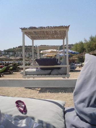 Meis Apart: Best seats on the beach - SOOOO LAZY lol