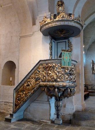 Ringsaker Kirke: Kanzel