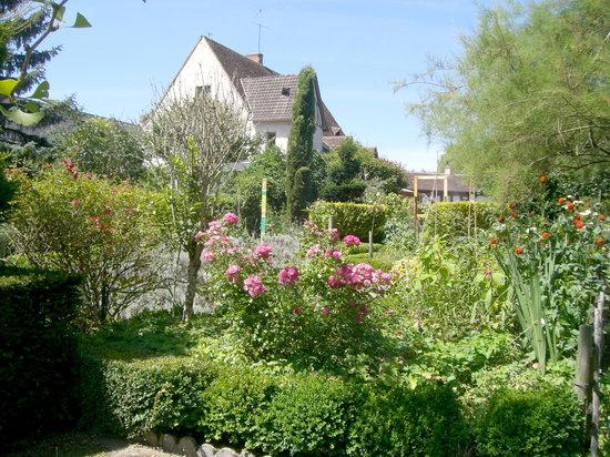 Les Metamorphozes : La maison, vue depuis le jardin