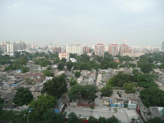 Quanji Beijing Xuanwumen: View west from 10th floor room