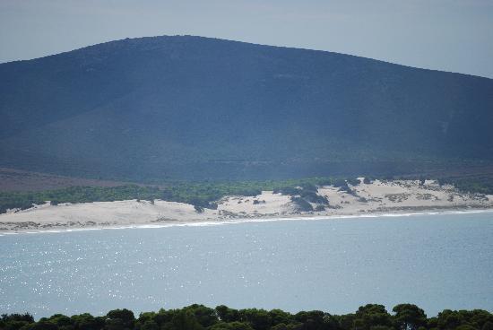 Porto Pino, Italy: Vista delle Dune dal B&B