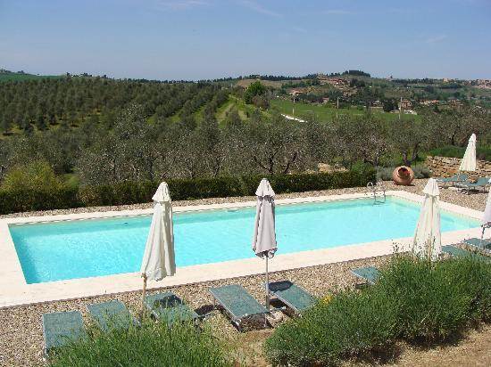 Torre di Ponzano - Chianti area - Tuscany -: The pool