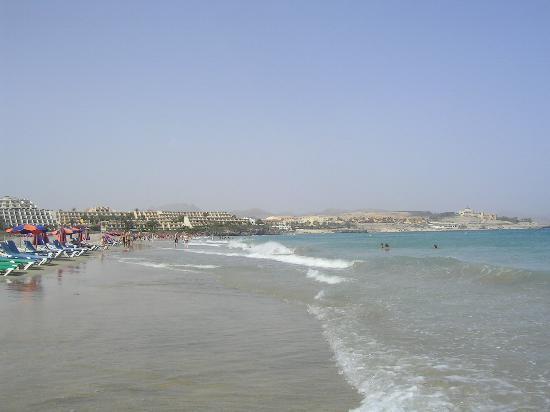 SBH Costa Calma Palace: La spiaggia davanti all'hotel