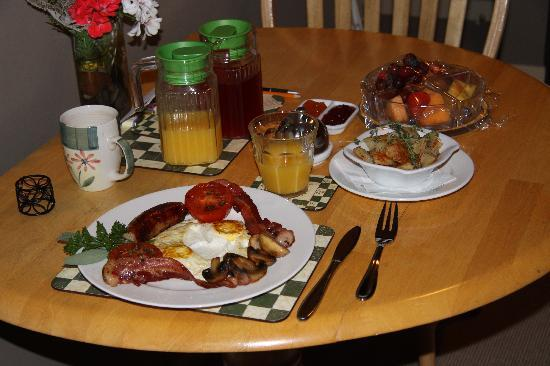 627 on King Bed and Breakfast: Day 1 - Full english breakfast