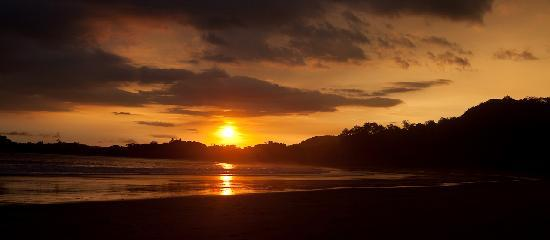 Playa Carrillo, Costa Rica: Sunset