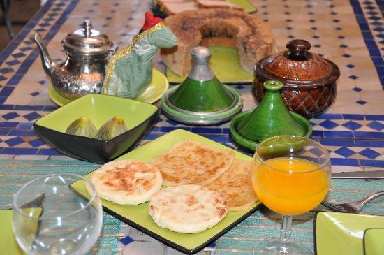 Riad Couleurs Du Sud: appétissant!