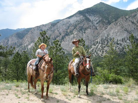 trail riding at Deer Valley Ranch