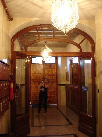 Hostal Oriente: hall del hostal