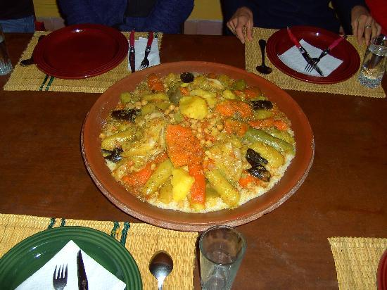 Dar Zitoune: couscous royal