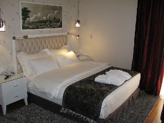 Hotel Amira Istanbul: gemütliches Hotelzimmer