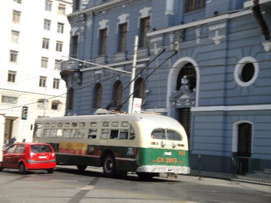 Valparaiso, Chile: Trolebuses de Valpo