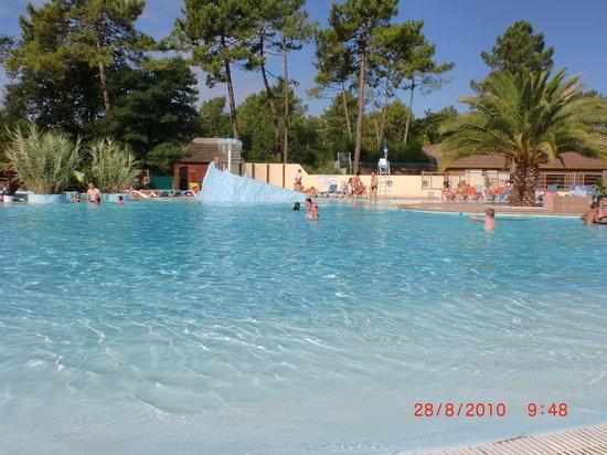 Labenne, Francia: Pool Area