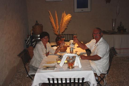 Le Mas Regalade : Diner Anniversaire