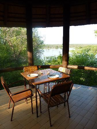 Mopani Rest Camp: Mopani Terrasse