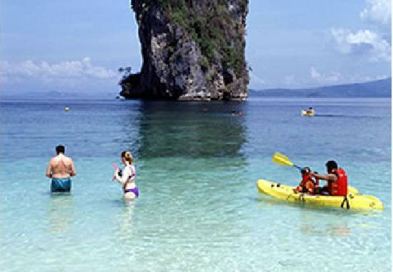 Phuket, Thailand: Phang-gna beach