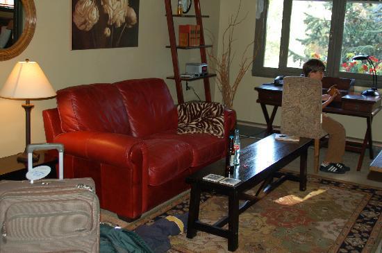 Evergreen, CO: Living Room