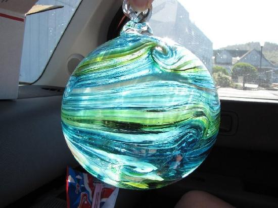 Jennifer Sears Glass Studio : Glass Float