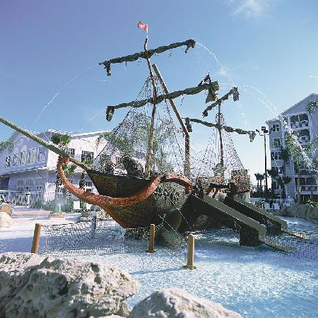 Marriott's Harbour Lake: The pool features a life-sized pirate ship that is sure to please your little ones.