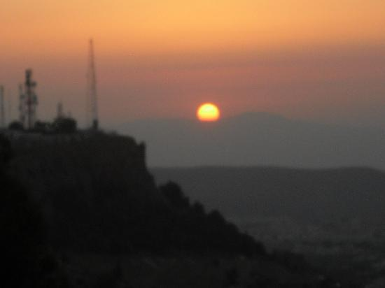 coucher de soleil tlemcen