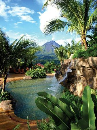 The Springs Resort and Spa: View over Cascadas Calientes Pools