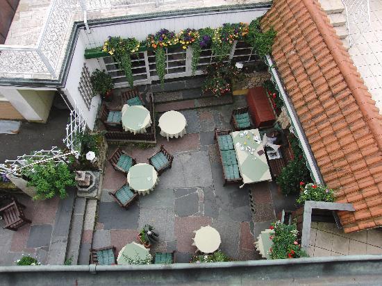 Hotel-Restaurant Feiler: romantischer Innenhof
