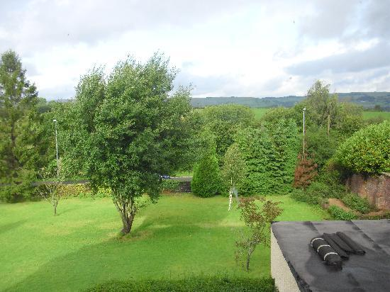 Highland Moors Guest House: view from our bedroom window