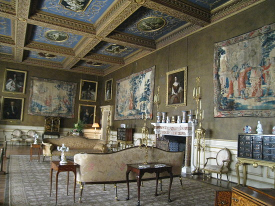 Chirk, UK : State rooms
