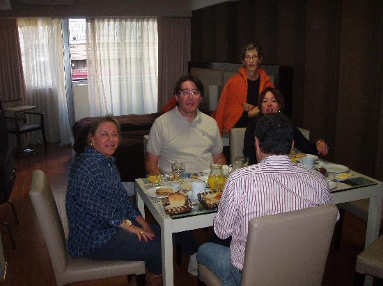 Ayres de Libertad: Café da manhã