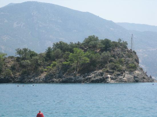 The Grand Ucel Hotel: Blue lagoon