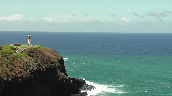 Kilauea Lighthouse: from the vista point