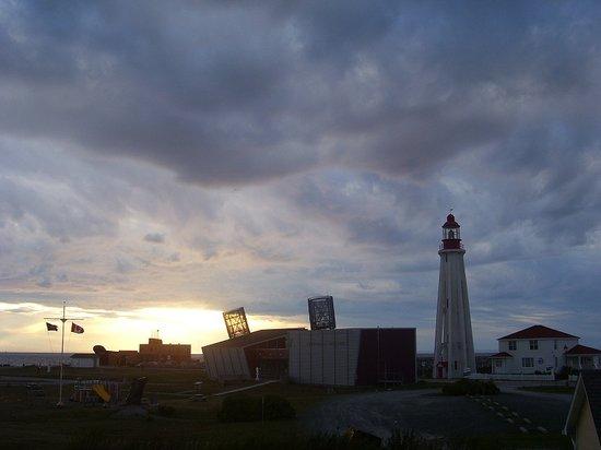 Site historique maritime de la Pointe-au-Pere張圖片