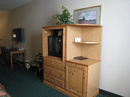 BEST WESTERN PLUS Revere Inn & Suites: TV