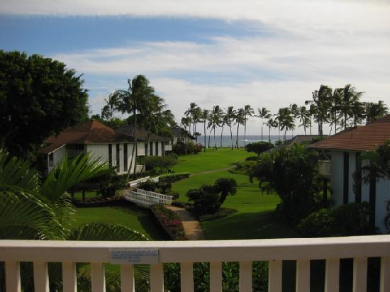 Kiahuna Plantation Resort: view from lanai