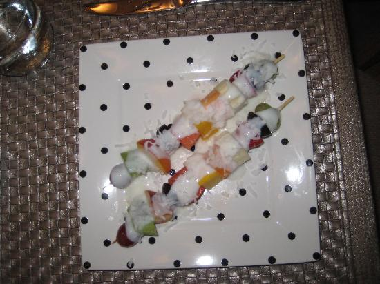 Creston, Καναδάς: Awesome fruit kabobs