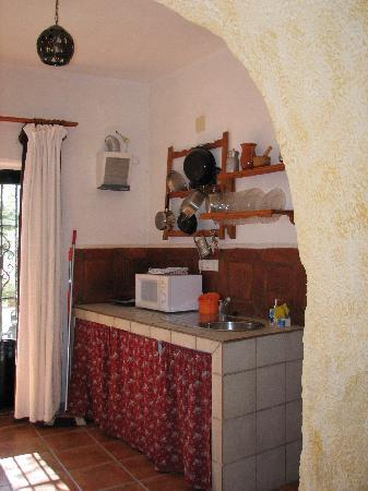 Cuevas El Abanico: kitchen of the cave -fully equiped