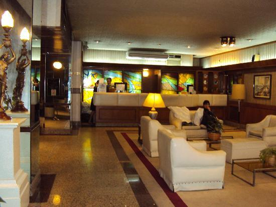 Columbia Palace Hotel : 2.- Cloumbia Palace Hotel Bs As: Lobby-recepción