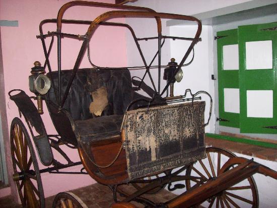 Hacienda Buena Vista : old cart