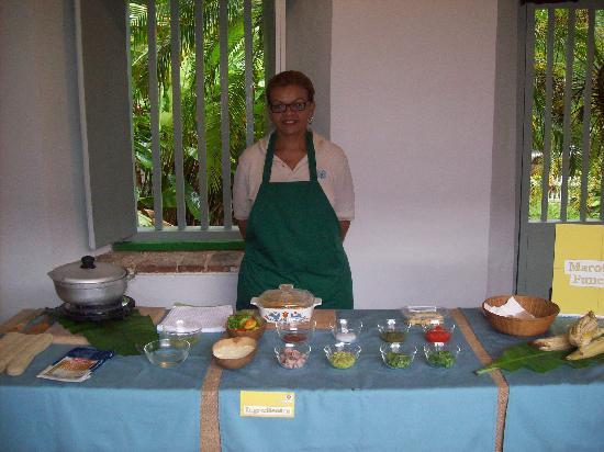 Hacienda Buena Vista : Part of the corn festival food caller Marota