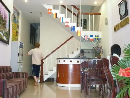 Hanoi Diamond Hotel: reception