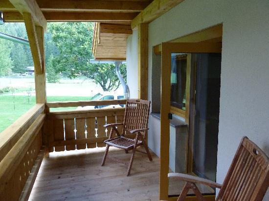 Gasthaus-Pension Reiterklause: Riesiger Balkon