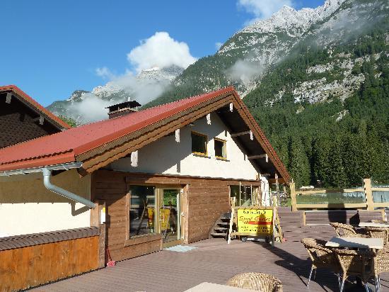 Gasthaus-Pension Reiterklause: Sonnenterasse