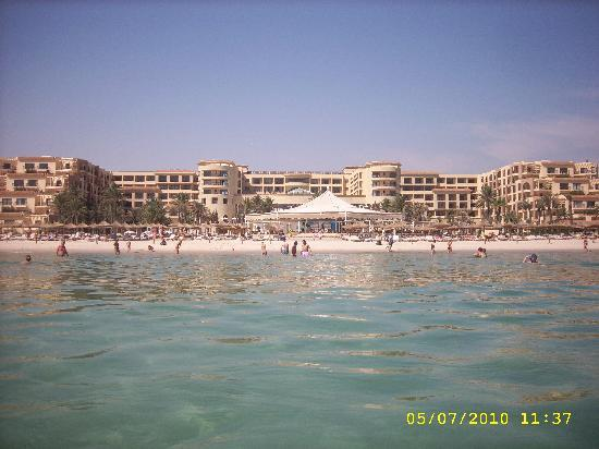 Movenpick Resort & Marine Spa Sousse : Hotel view from water