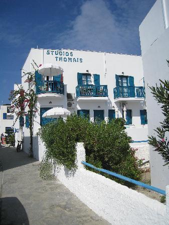 Studios Thomais: The hotel