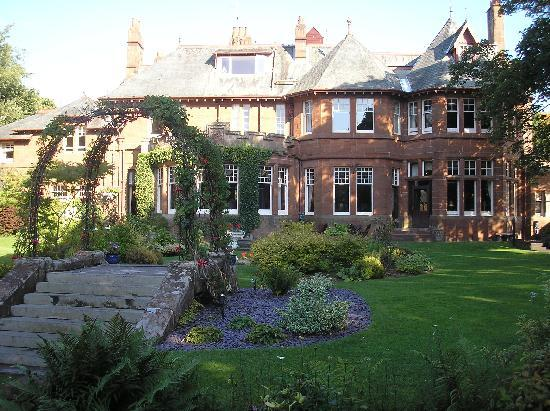The Savoy Park Is A Beautiful Old Red Sandstone Mansion